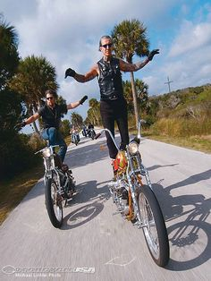 Paul Cox and Indian Larry surf some asphalt. It would be this same stunt, a pose Indian Larry referred to as 'the Crucifix,'' that would ultimately claim his life. presented by www.friseurimmobilienagent.de