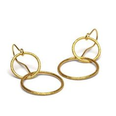 Pernille Corydon Double Loop Earrings