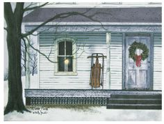 billy jacobs winter porch billy jacobs printswinter