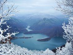 PhotoTab - Зима над яз. Въча на Славчо Първанов