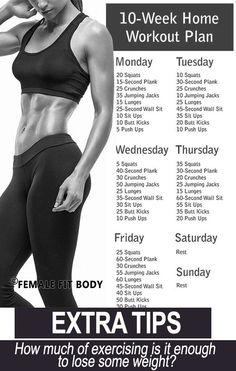 No-Gym Home Workout Plan
