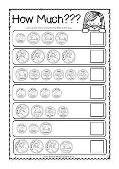 S.T.W. now has Canadian money worksheets! (UK and