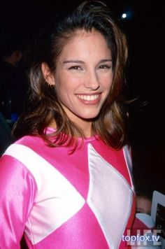 My favorite Pink Ranger Amy Jo Johnson