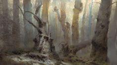 ArtStation - Great Tree People/Dishonored 2, Piotr Jabłoński