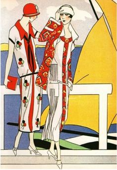 Authentic Vintage Art Deco Fashion Print Martial et Armand Art Gout Beaute Art Deco Illustration, Fashion Illustration Vintage, Fashion Illustrations, Art Deco Posters, Vintage Posters, Mode Vintage, Vintage Art, Art Deco Fashion, Fashion Prints