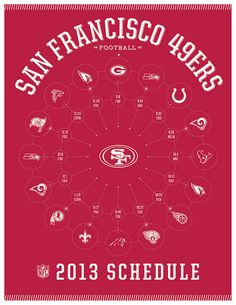 San Francisco 49ers 2013 Schedule