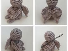 "E-Book / Häkelanleitung ""kleiner Engel"" - Barbara Ritchie Crochet Amigurumi, Amigurumi Doll, Crochet Dolls, Crochet Yarn, Free Crochet, Crochet Home, Crochet Crafts, Crochet Projects, Breast Cancer Crafts"
