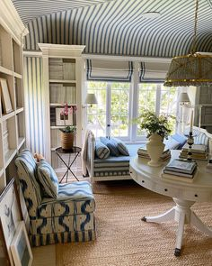 In the midst of so much uncertainty and so much pain and loss for so many it is difficult to keep one's mind clear and one's heart hopeful. Like everyone else, I've busied myself indoors… Living Room Designs, Living Room Decor, Living Spaces, Living Rooms, Bedroom Decor, Mark Sikes, Hollywood Hills Homes, Perfect Day, Cottage Interiors
