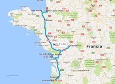 Ruta por el Oeste de Francia
