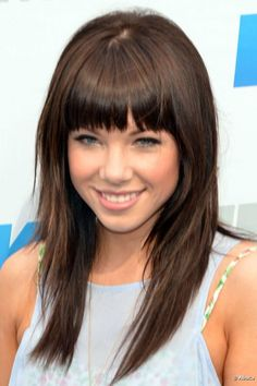 Carly Rae Jepson's bangs? Maybe.