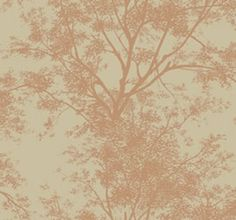 YV9017 / Ashford House Page 6 / Tree Silhouette  $16.95 per single roll