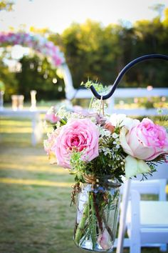 Rustic Romantic Outdoor Wedding at Cedarwood Wedding Aisles, Wedding Aisle Outdoor, Wedding Ceremony Ideas, Outdoor Wedding Decorations, Our Wedding, Dream Wedding, Outdoor Ceremony, Floral Wedding, Rustic Wedding