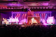 BIG Tamil Melody Awards stage full view