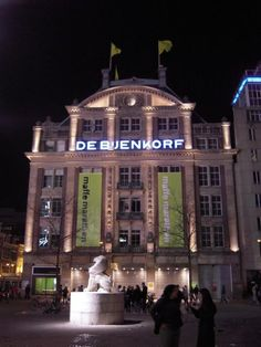 de Bijenkorf Amsterdam--Holland's answer to Macy's...great shopping!