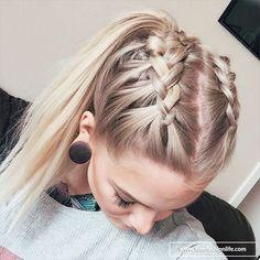 Sleeping braid waves hairstyle tutorial
