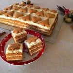 Mézeskalács szelet | mókuslekvár.hu Amazing Food Decoration, Hungarian Recipes, Christmas Snacks, Sweet Cakes, Winter Food, No Bake Cake, Street Food, Sweet Recipes, Bakery