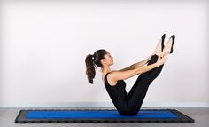 Pilates exercises performed on mats or ballet barres help sculpt lean muscles and provide a full-body workout Pilates Workout, Exercise, St Albans, Massage Therapy, Aerobics, Gymnastics, Youtube, Health Fitness, Muscle