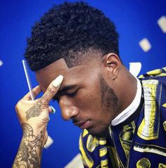 Finding The Best Short Haircuts For Men Male Haircuts Curly, Black Men Haircuts, Black Men Hairstyles, Cool Mens Haircuts, Boy Hairstyles, Men's Haircuts, Modern Hairstyles, Natural Hairstyles, Black Hair Cuts