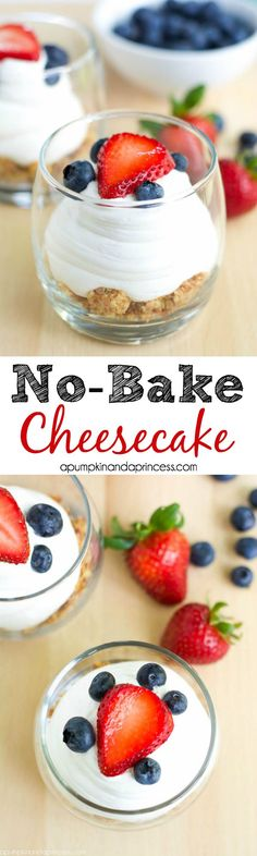 No-Bake Cheesecake in a jar from MichaelsMakers A Pumpkin and a Princess
