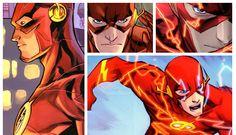 Barry Allen;The Flash. Fastest Man Alive.