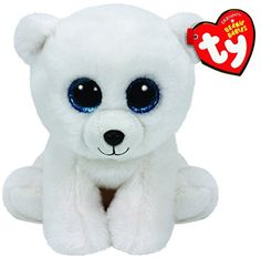 Ty Classic Arctic - Polar Bear Medium Collectable soft Beanie babies toy Brightly coloured design Highly tactile plush fabric Part of Ty's hugely popular Beanie Boo collection Ty Beanie Boos, Beanie Babies, Dog Beanie, Arctic Polar Bears, White Polar Bear, Ours Boyds, Ty Peluche, Ty Toys, Polar Bear Christmas
