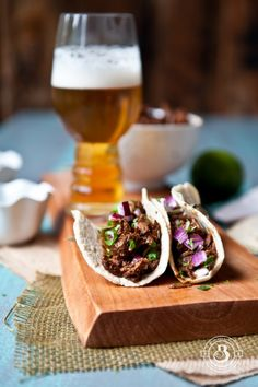 Stout Beef Barbacoa Tacos. Best tacos I've ever made!!