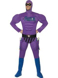 """Naamiaisasu; Mustanaamio  Supersuosittu Mustanaamio standardikokoisena… Mustanaamion oikea nimi on Christopher """"Kit"""" Walker. Häntä kutsutaan sarjassa myös nimillä """"Mies joka ei kuole koskaan"""", """"Vaeltava aave"""" ja """"Kostaja"""". Hän pukeutuu kokotrikoisiin aina huppua myöten. #naamiaismaailma"""