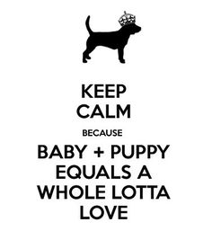 There's definitely work to be done before bringing a baby home to a pet, but once love is established, there will be so much of it to go around!