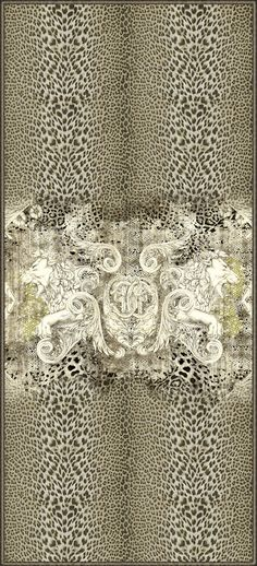Roberto Cavalli #Wallpaper - See more at Kings of Chelsea, the exclusive UK dealer of Roberto Cavalli Home Interiors #RobertoCavalli #Interiors #InteriorDesign #InteriorDesign