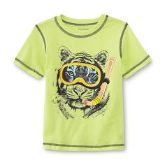 WonderKids Infant & Toddler Boy's Graphic T-Shirt - Snorkel Tiger - Baby - Baby & Toddler Clothing - Tops