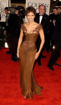 Halle Berry Golden Globes 2002