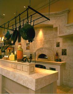 Kitchen stone and tile project photos using Authentic Durango Stone marble limestone and travertine are on display. Travertine Countertops, Natural Stone Countertops, Countertop Backsplash, Kitchen Countertops, Granite, Kitchen Island, Diy Design, Design Ideas, Interior Design