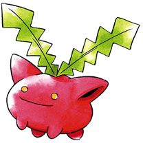 #Hoppip from the official artwork set for #Pokemon Gold and Silver for #GameBoy Color. http://www.pokemondungeon.com/pokemon-gold-and-silver-versions