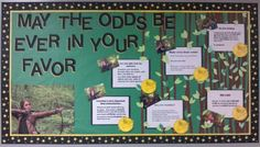Hunger Games Bulletin Board