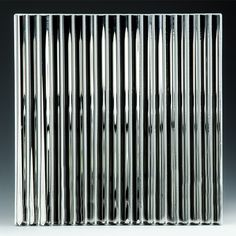 Fluted – Nathan Allan Glass Studios Cast Glass, Glass Material, Flute, Studios, It Cast, Home Appliances, Architecture, Doors, Fused Glass