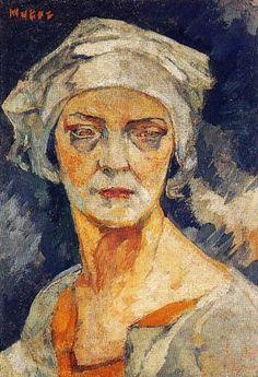 Maria Mela-Muter (1876-1967) ~ Self-Portrait