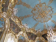 Ceiling in the Hôtel de Soubise, Paris, France - @~ Mlle