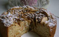 Ricetta Torta con crema e mele