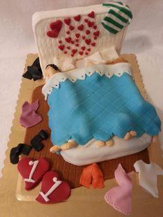 Anniversario. ..victoria sponge cake con crema all'ananas