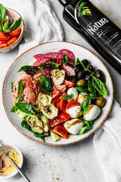 Antipasto Salad With Balsamic Dressing Di 2020