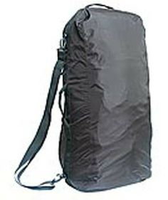 More of a travel item.  Sea to Summit Pack Converter.  Can be used as a rain cover as well as a duffel bag to transport your pack.  1# 4oz.