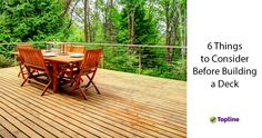 Thinking of adding a deck to your garden? Check out our helpful guide for everything you need to know before you build.