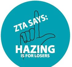 Hazing, it's no joke...   Am I right, or am I right?  #ZLAM