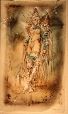 Conceptions Luis Royo Close Up, in Capt.Lou's SOLD Comic Art Gallery Room - 494651