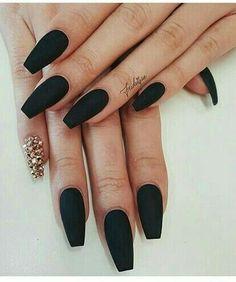 matte black color.
