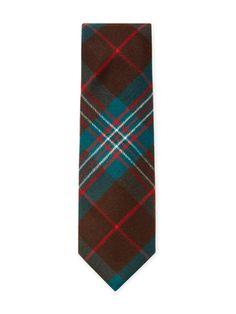 Cashmere Plaid Tie