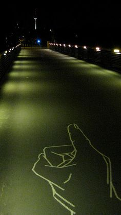 Masking Tape Street Art :: Blogs :: Awesome of the Day :: Paste