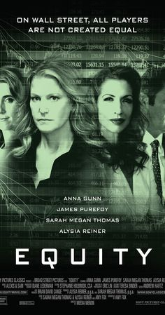 New Zealand International Film Festival 2016 #nziff #femalevoices #womeninfilm Directed by Meera Menon.  With Anna Gunn, James Purefoy, Sarah Megan Thomas, Alysia Reiner. Senior investment banker Naomi Bishop is threatened by a financial scandal and must untangle a web of corruption.