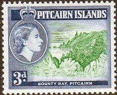 Stamps Pitcairn Islands 1957 SG 21 Handycraft Bird Model Fine Mint Scott 23 Other Pitcairn Island Stamps HERE