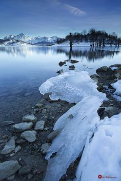 Frozen Mirror by Danilo Di Giovanni on ) Beautiful World, Beautiful Places, Beautiful Scenery, Places Around The World, Around The Worlds, Kiss World, New Year Celebration, Winter Beauty, Weird Pictures